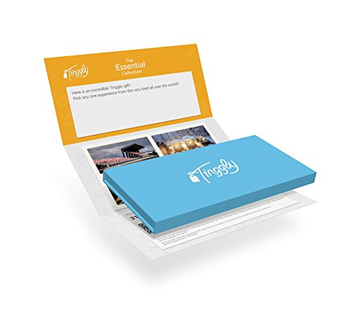 Worldwide Experience Gifts - Essential Tinggly Voucher / Gift Card in a Gift Box