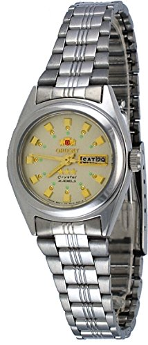 Orient #BNQ1X003C Women's Tri Star Champagne Dial Automatic Watch