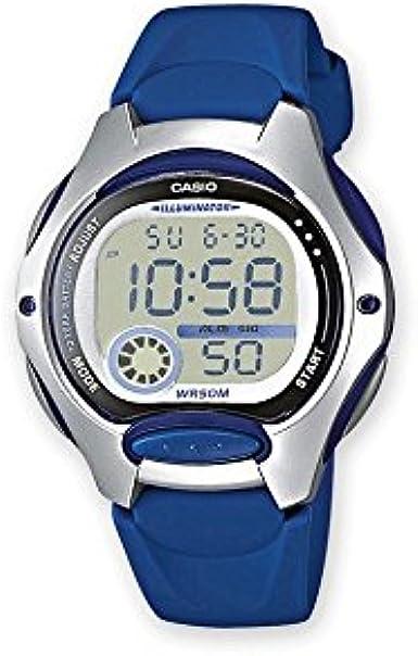 Casio LW-200-2AVEF. - Reloj, Correa de Resina Color Azul: Amazon ...