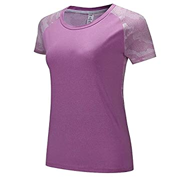 HWTP Camisa de Yoga Fitness para Mujer, Camiseta Deportiva ...