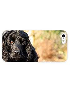 meilinF0003d Full Wrap Case for iphone 6 plus 5.5 inch Animal Cute Black DomeilinF000