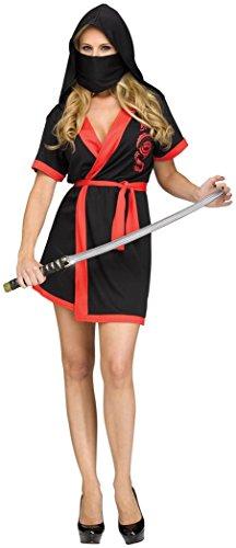 Funworld Ninja Robe Adult Costume Sm/Med]()