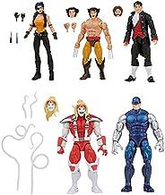 Marvel Legends Series Wolverine 5-Pack, Includes Marvel's Omega Red, Marvel's Cyber, Marvel's Call