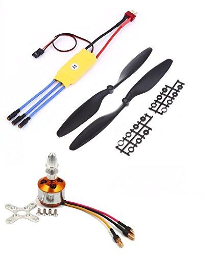 Invento Quadcopter kit BLDC Brushless Motor A2212 1400KV 30A ESC 1045 Propeller set (B071ZLPDPJ) Amazon Price History, Amazon Price Tracker