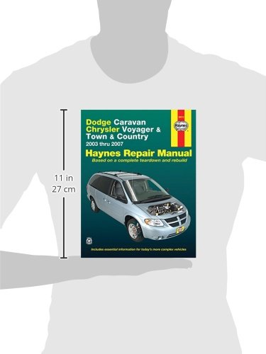 dodge caravan chrysler voyager town country 2003 thru 2007 rh amazon de Pimped Out 2003 Chrysler Voyager chrysler voyager 2003 service manual
