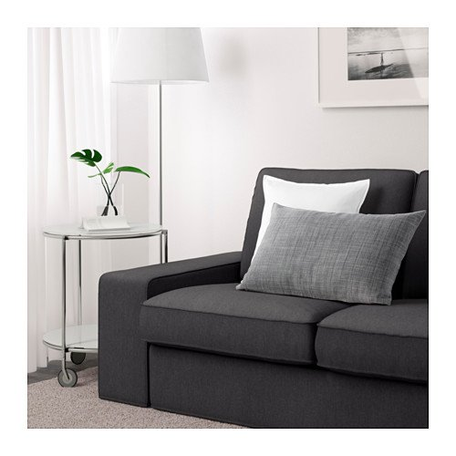 Amazon IKEA KIVIK Cover for Sofa 89 3 4 width Dansbo Dark