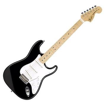 Fender Japón 68 Reissue Stratocaster st68-tx negro (Japón Importación)