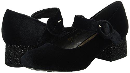 Violet Tosca Schwarz Ballet Blu Flats Black c99 Women''s wwOZEA