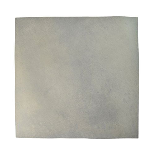 Leather Square (12'x12') for Crafts / Tooling / Hobby Workshop, Medium Weight (3mm) by Hide & Drink :: Stone Gray