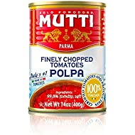 Mutti Finely Chopped Tomatoes, 14 oz. Can, 12-Pack