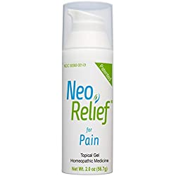 NeoRelief for Pain, Pain Relief: Topical Pain Relief,Odorless,Colorless,No Menthol,Patented Homeopathic Formula for Arthritis,Back Pain,Headaches,Muscle Pain, Joint Pain,Shingles,Sprains,Strains