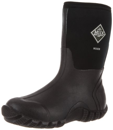 The Original MuckBoots Adult Hoser Mid Boot,Black,10 M US Mens/11 M US Womens Demonias Knee Boots