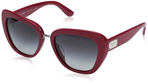 Dolce-Gabbana-Womens-Acetate-Woman-Round-Sunglasses-Fuxia-57-mm