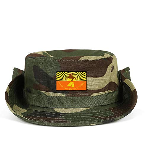SHIWERJHC Man's Flag of Jacksonville Florida State Flag Sun Hats Breathable Outdoor Fishing Caps Unisex]()