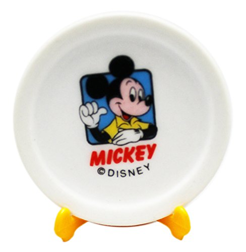 Disney Collectible Plates (Disney's Mickey and Minnie Mouse Decorative Miniatre Plate Set (2 Plates))