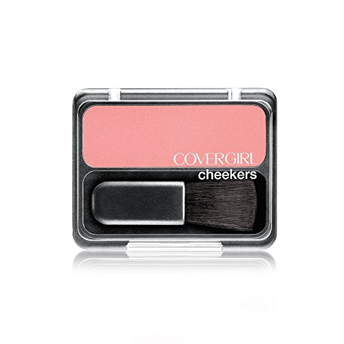 COVERGIRL Cheekers Blendable Powder Blush Pretty Peach, .12 oz
