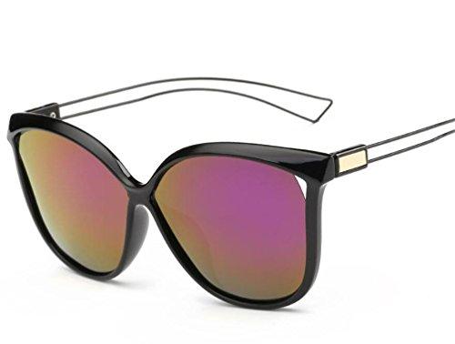 ZHLONG Polarisierte Sonnenbrille Damen fahren große Rahmen Sonnenbrillen spiegeln , 4