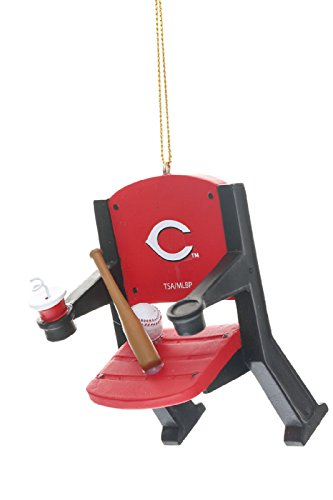 Cincinnati Reds Official MLB 4 inch x 3 inch Stadium Seat Ornament