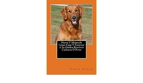 Nuevo Y Mejorado Como Criar Y Entrenar A Su Golden Retriever Cachorro O Perro (Spanish Edition): Vince Stead: 9781499514926: Amazon.com: Books