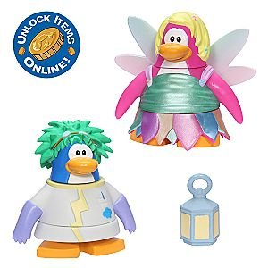 Club Penguin 2' Mix - Disney Club Penguin 2'' Mix 'N Match Figure Pack - Rad Scientist and Faery
