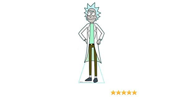 Engraving Rick and Morty STANDUPS aahs! Poppy 5 FEET