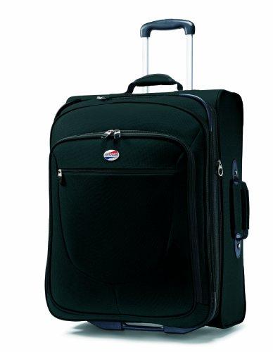 American Tourister Luggage Splash 29 Upright Suitcase, Black, 29 Inch>