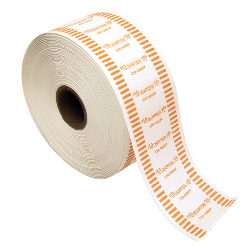 The Coin-Tainer Co. Automatic Coin Wrapper Roll, Quarter, 1000 feet (50025)