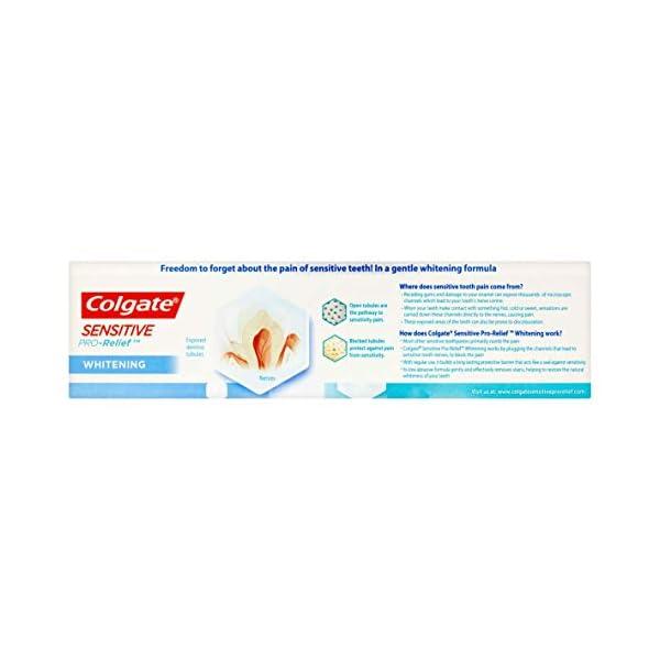 Colgate Sensitive Pro-Alivio pasta dentífrica blanqueadora, 75ml 5