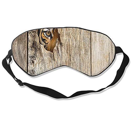 XJOFKJTI Siberian Tiger Eye Looking Sleep Mask Women & Men with Adjustable Straps Sleeping 8.26