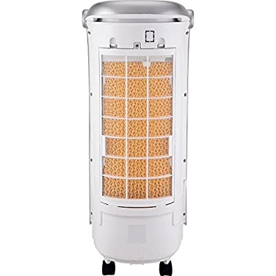 Honeywell CS074AE Evaporative 200 CFM Indoor Portable Cooler with Remote Control and Ice Pack, White Home Comfort,