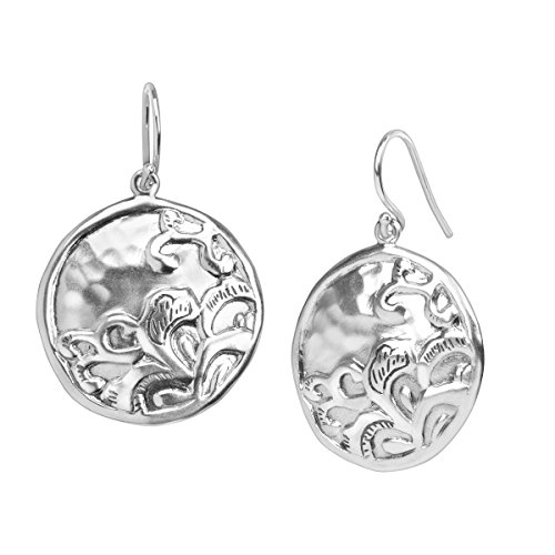 Silpada Jewelry (Silpada 'Tidal Wave' Sterling Silver Disc Drop Earrings)