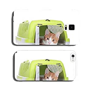 Cat in transport basket cell phone cover case Samsung S5