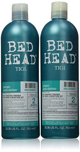 TIGI Bed Head Recovery Shampoo and Conditioner Duo 25.35 Fl.
