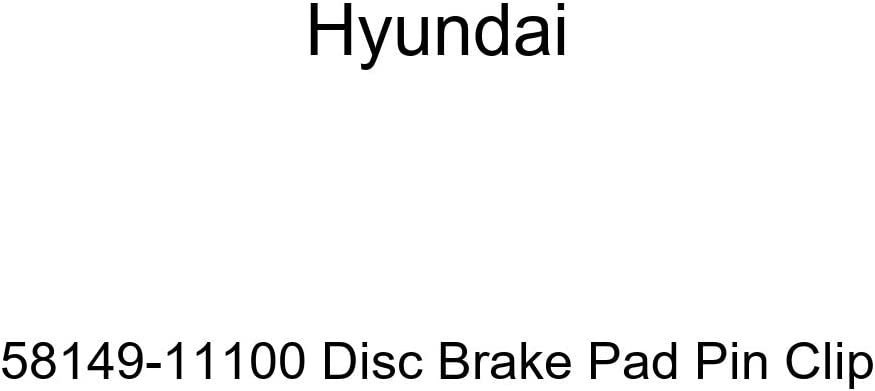 Hyundai 58149-11100 Disc Brake Pad Pin Clip