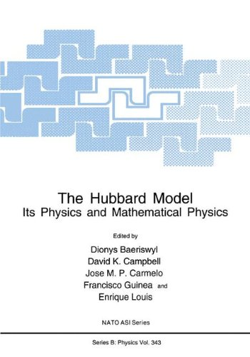 The Hubbard Model: Its Physics and Mathematical Physics (Nato Science Series B:)