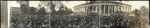 HistoricalFindings Photo: 1906 Panoramic: Unveiling of William McKinley Memorial,Canton, - Memorial Mckinley Canton Ohio