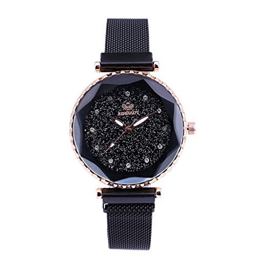 (LUXISDE Fashion Casual Unobtrusive Simple Single Business Net with Strap Men's Watch H)