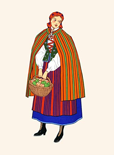 National Costumes of Poland Poster Print by