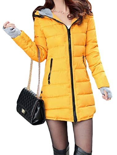 Slim Coat XINHEO Zip Long Hoodie Mid Oversize Womens Pattern10 Pocket Down zrqzxX
