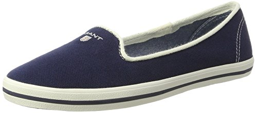 Gant Damen New Haven Slipper Blau (marineblauw)