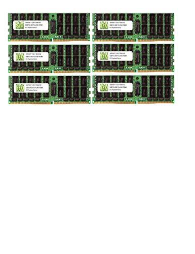 192GB 6x32GB DDR4-2933 PC4-23400 RDIMM Memory for Apple Mac Pro 2019 MacPro 7,1 by Nemix Ram