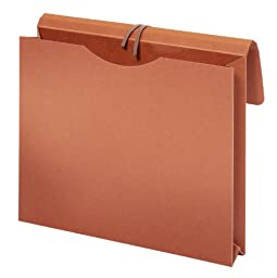 Globe-Weis/Pendaflex Envelope, Red Wallet, Letter, With Tape Tie, Brown (MM6043)
