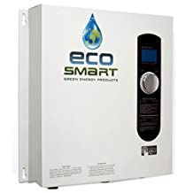 Ecosmart ECO 27 Electric Tankless Water Heater, 27 KW at 240 Volts with Patented Self Modulating Technology
