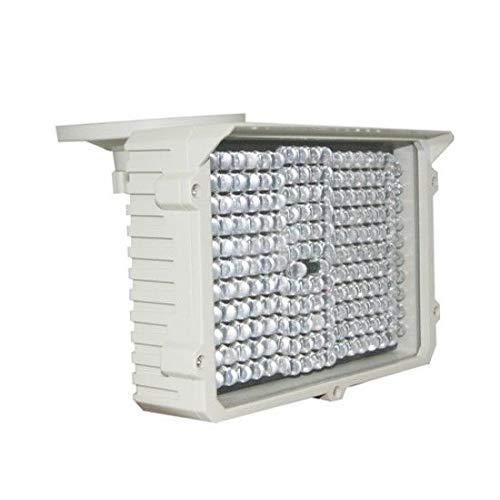 FidgetKute Long Range Weatherproof CCTV IR Illuminator Distance Upto 426FT IP67 Rating 12V Show One Size by FidgetKute