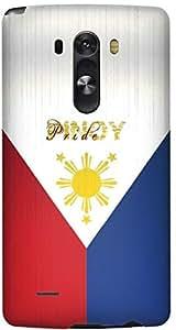 Stylizedd LG G3 Premium Slim Snap case cover Matte Finish - Pinoy Pride