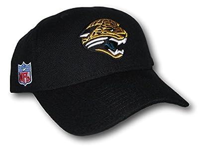 Jacksonville Jaguars Black Structured Adjustable Hat Lid Cap from Fan Apparel