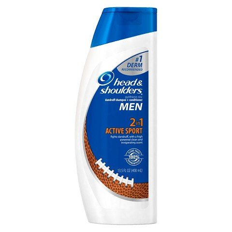 Head and Shoulders Men Active Sport 2-in-1 Dandruff Shampoo + Conditioner - 14.2 fl oz by HEAD
