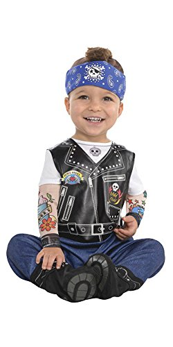 Baby Biker Halloween Costume (12-24 (Hallows Eve Halloween Costumes)