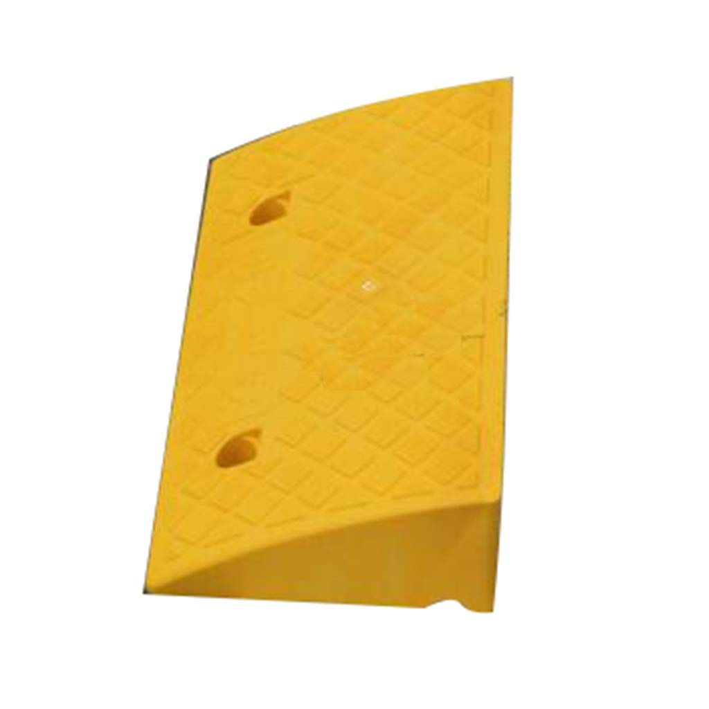 CSQ Ramps Yellow Ramp Pad, The Mall Parking Lot Slope Pad Hotel Airport Slope Pad Pier Slope Pad Size:50 * 27 * 6.5CM Kerb Ramps (Size : 50 * 27 * 6.5CM)