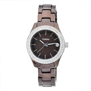 Amazon.com: Fossil Women's ES2963 Quartz Brown Dial